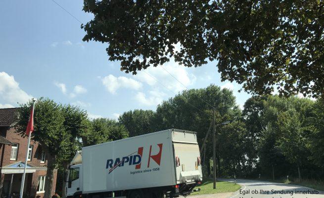 Transporte Hamburg, Rapid Spedition Hamburg
